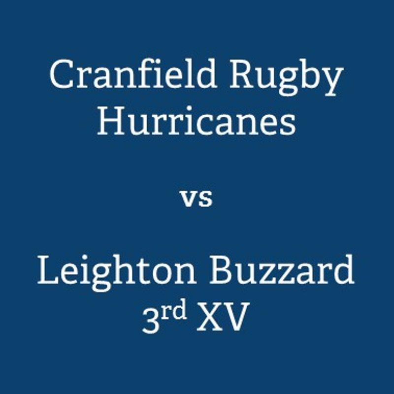 Cranfield University vs. Leighton Buzzard 3rd XV