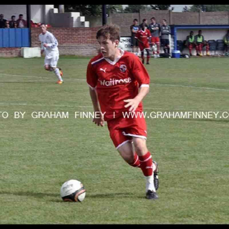 HTFC v Reading XI by Graham Finney
