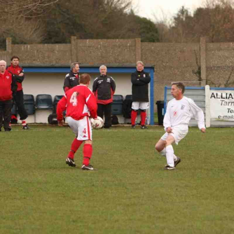 England v Wales Veteran's Game Photos by Stewart Wells