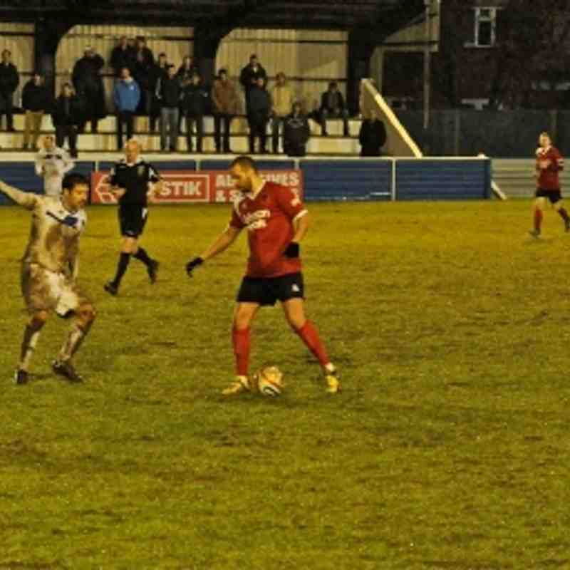 Hungerford Town v Bridgwater Town 22/12/12