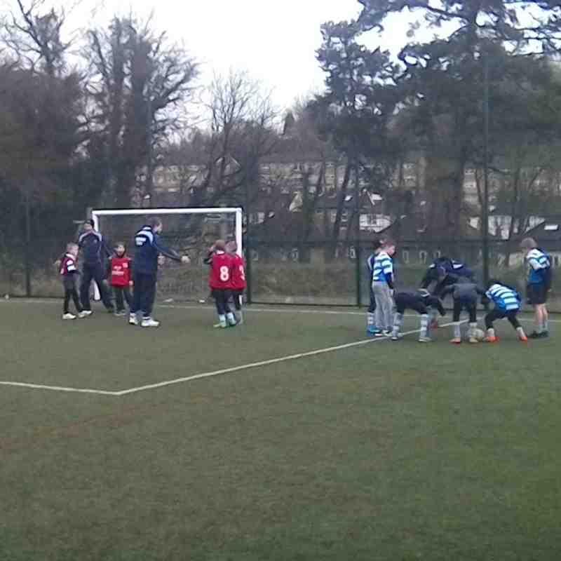 Sunday 10th Jan - WRFC U9 at Whyteleafe