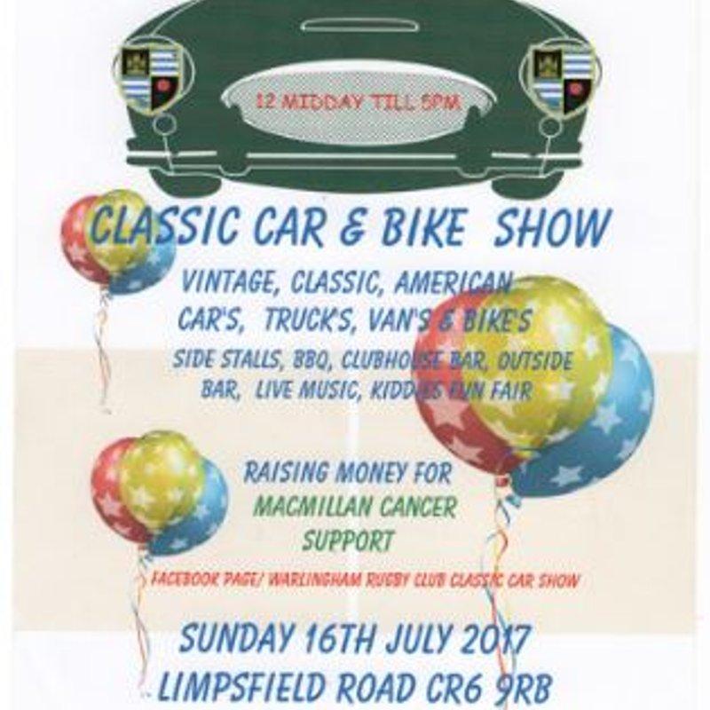 WRFC - Classic Car & Bike Show