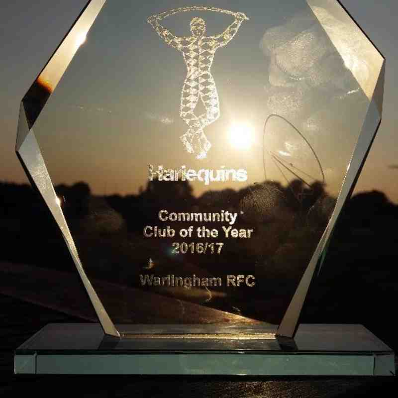 Quins Community club 2016-17