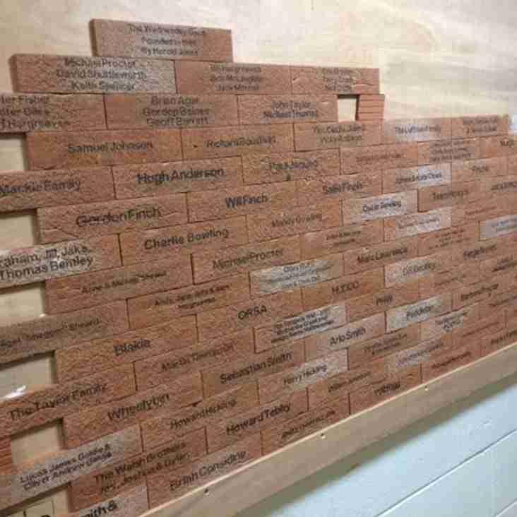 Otley's Buy a Brick campaign
