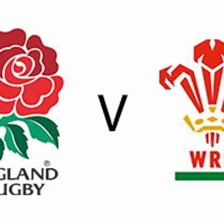 England v Wales - 10 February 2018