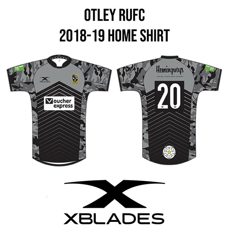 Otley launch their 2018-19 home shirt
