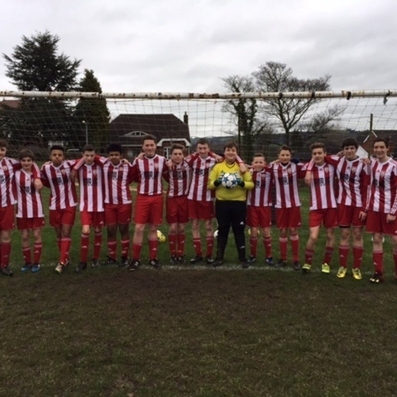 U16s lose to NEWCASTLE TOWN 3 - 7