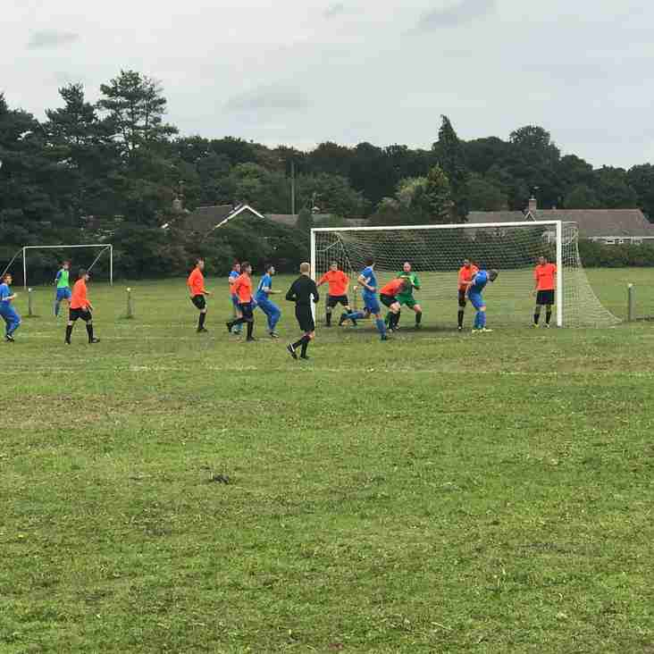 MATCH REPORT - 08/09/2018 - Narborough FC 1 - 4 RESERVES