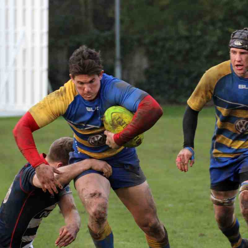 1st XV v Old Actonians 23.01.2016