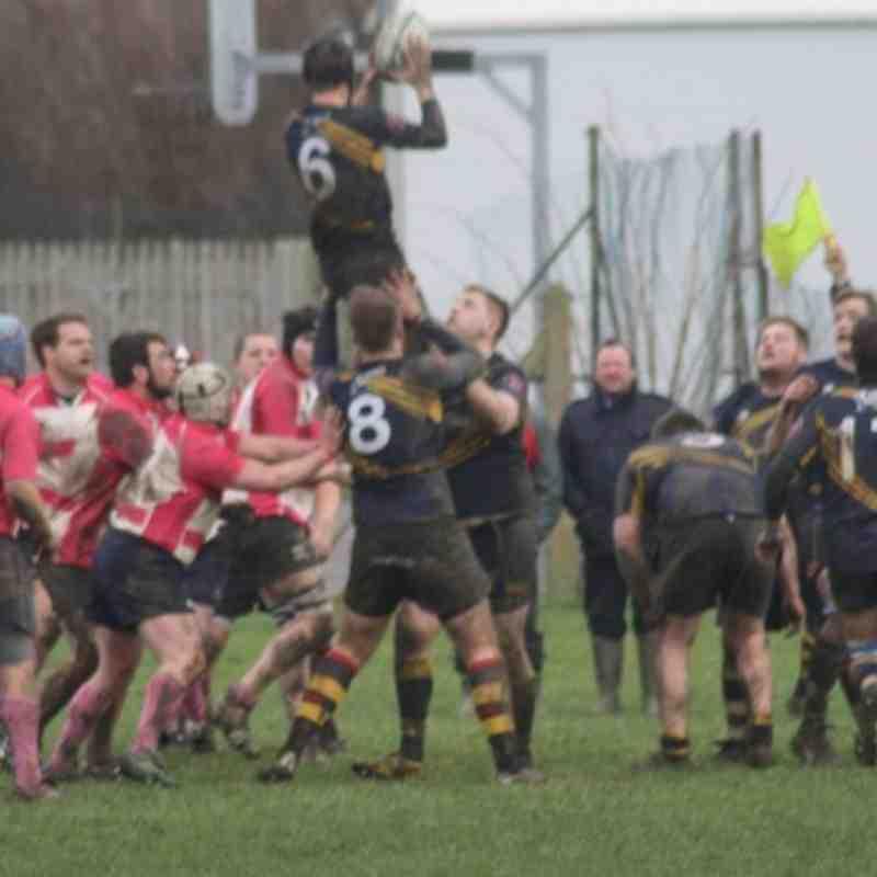 Eastbourne 1st XV vs Crowborough 2nd XV - Jan 2014