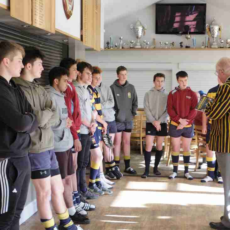 Our Under16's take a History Lesson