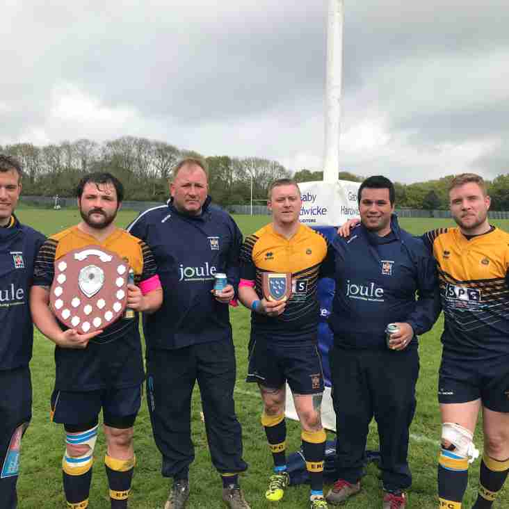 Blue and Golds upset the odds to claim Sussex Shield glory