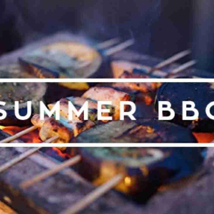 ERFC Summer BBQ