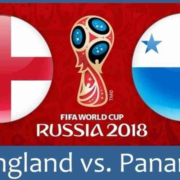 Club Open to Watch England vs. Panama