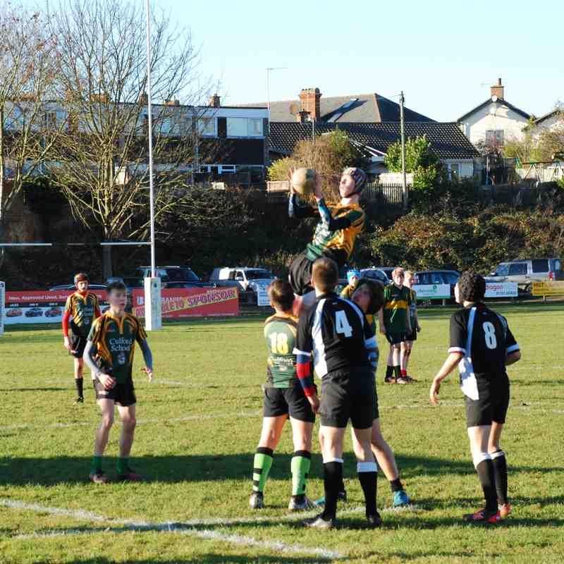 U15s v Colchester Dec 16