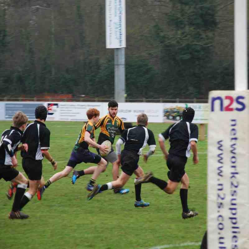 BSE U 15s v Colchester, Cup