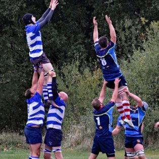 1st XV denied the win in close encounter with Old Cooperians