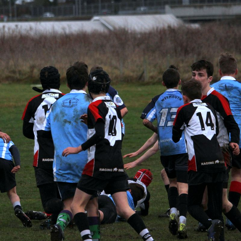 """Comfortable win For Devizes U14's V Weymouth in a """"D & W"""" game"""