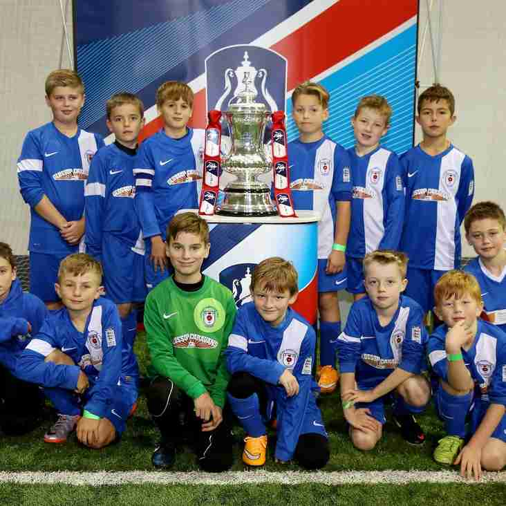 Glossop Under 10's FA Cup Heroes