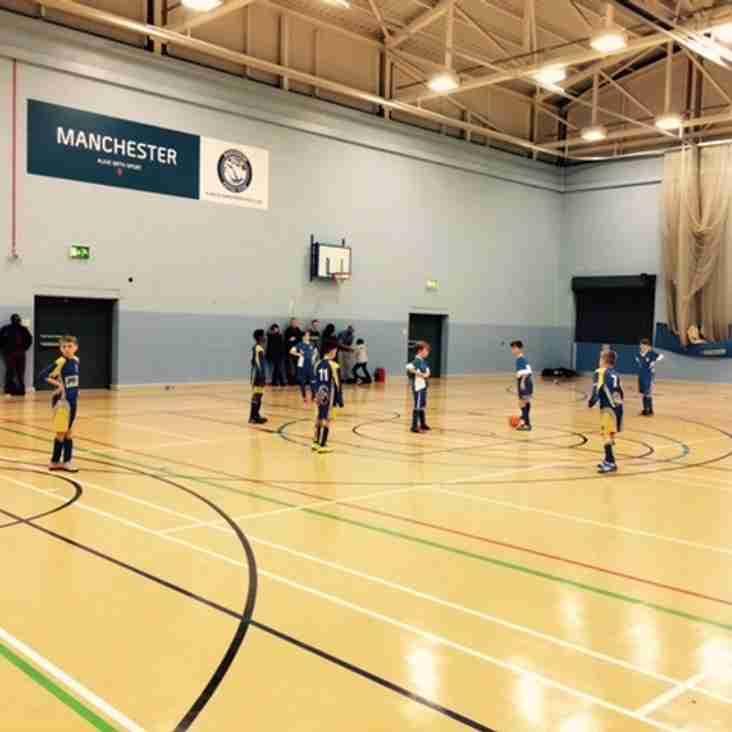 Under 12's Futsal - Manchester FA Futsal Cup 2016