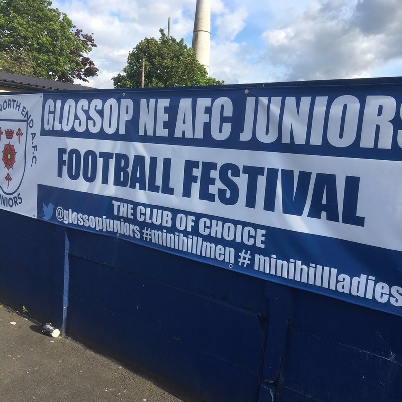 Glossop Juniors Football Festival Success