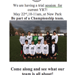 Chichester City Colts U12 Taster Session - Sunday 22nd May- 10.00am