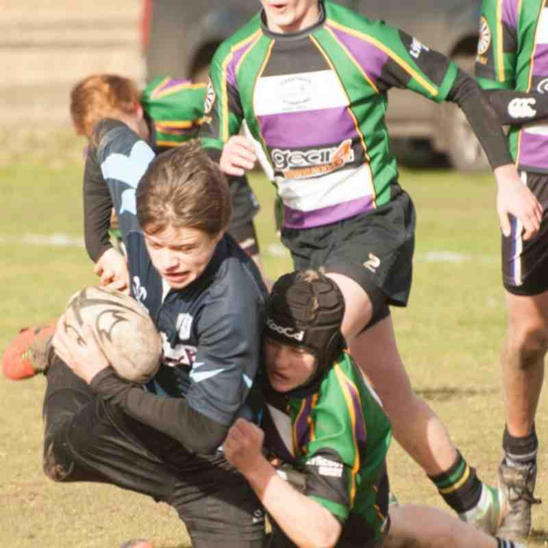 Under 15's v St. Neots 9th February 2014