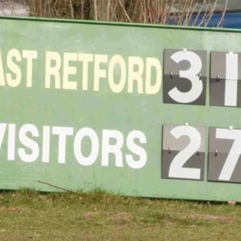 Under 15's v Retford 23Feb14