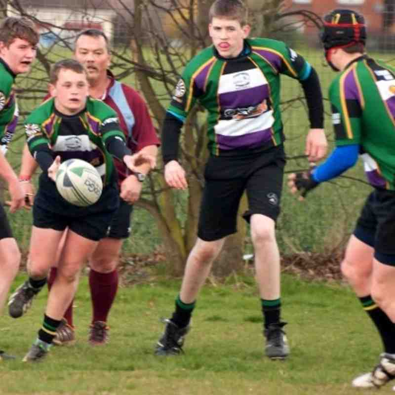 Under 15's v St.Neots 23Mar14