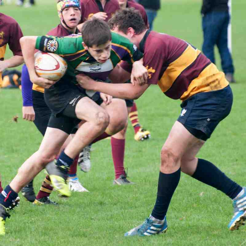 Under 16's v Ampthill 19Oct14