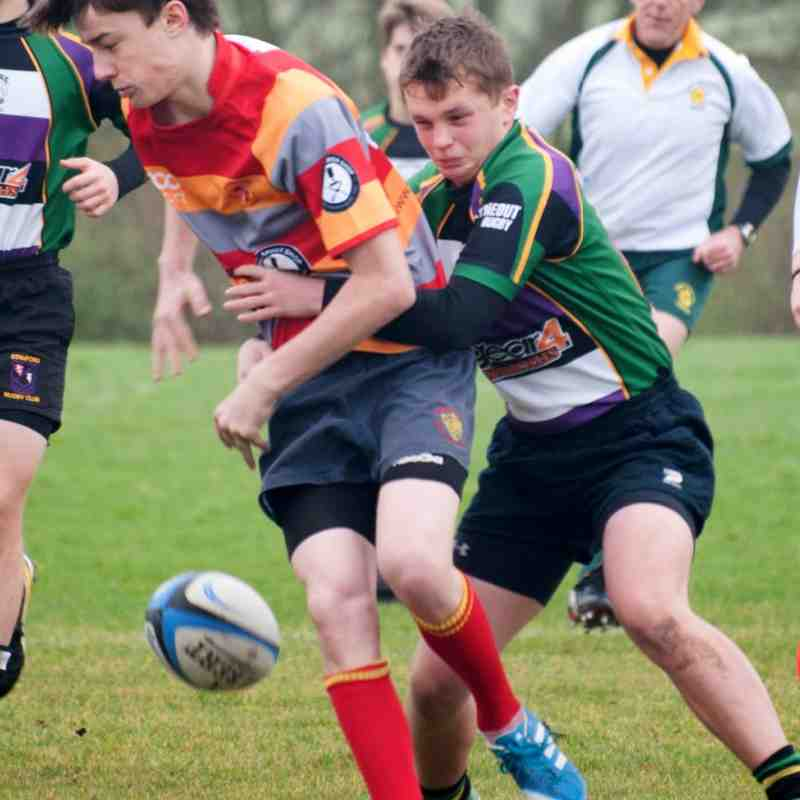 Under 16's v Peterborough 16Nov14