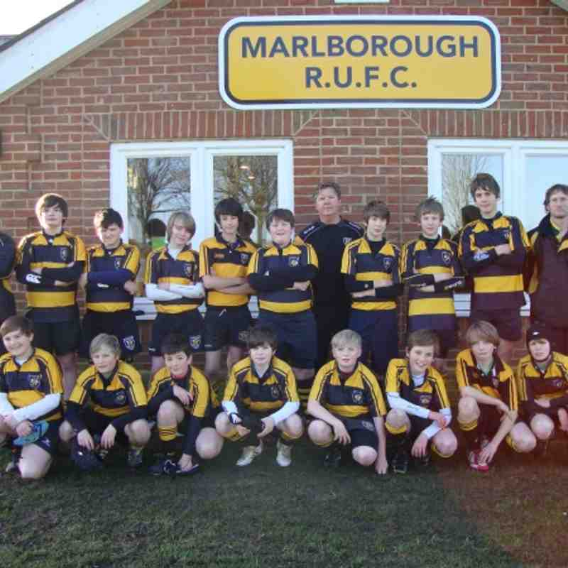 Marlborough U13 vs Corsham U13
