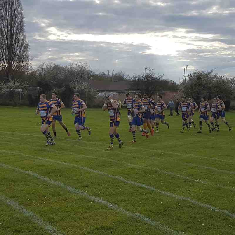 Coney Hill vs Old Richians 13.04.16