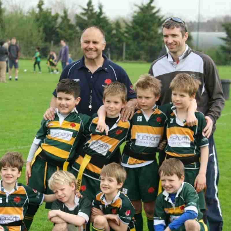 "Determined U8s @ Middlesex ""B"" Festival"