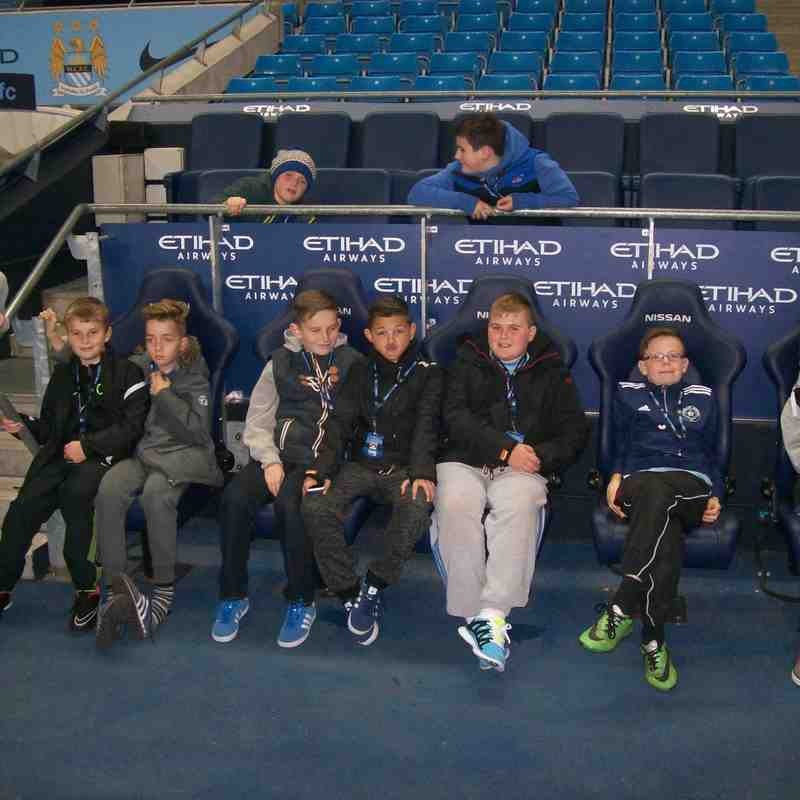 Tigers trip to Manchester City Halloween 2014