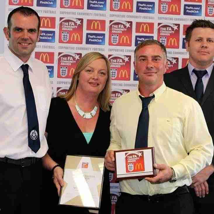 ERCFA Charter Standard Development Club of the Year 2015