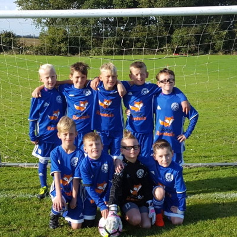U9's make outstanding gesture to local children following Bransholme house-fire.