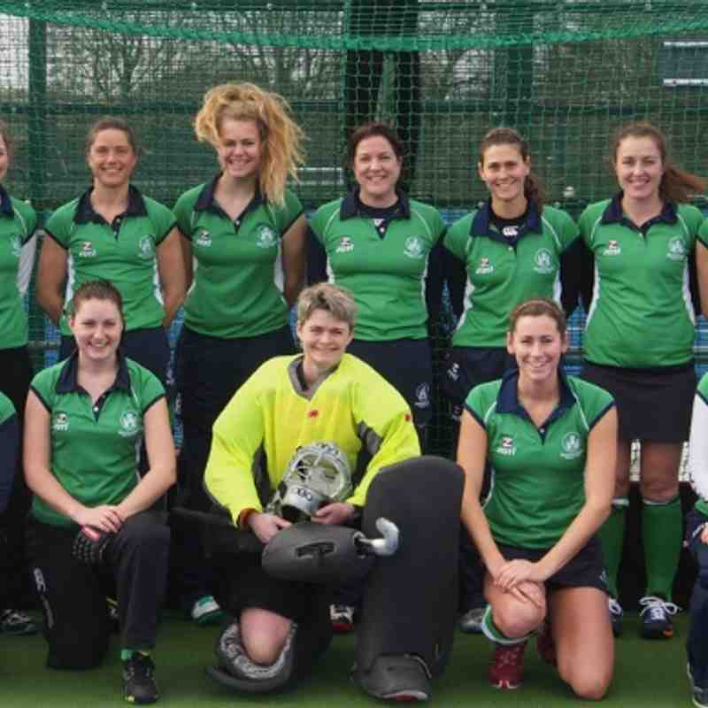 Ladies 1's before Leominster game