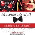 Masquerade Ball - Black & Red
