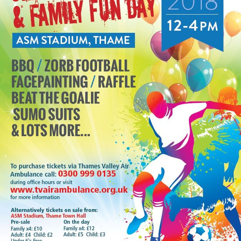 Charity Football & Family Fun Day