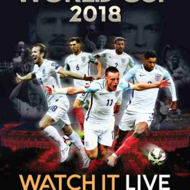 Watch the World Cup Live in Bar Red