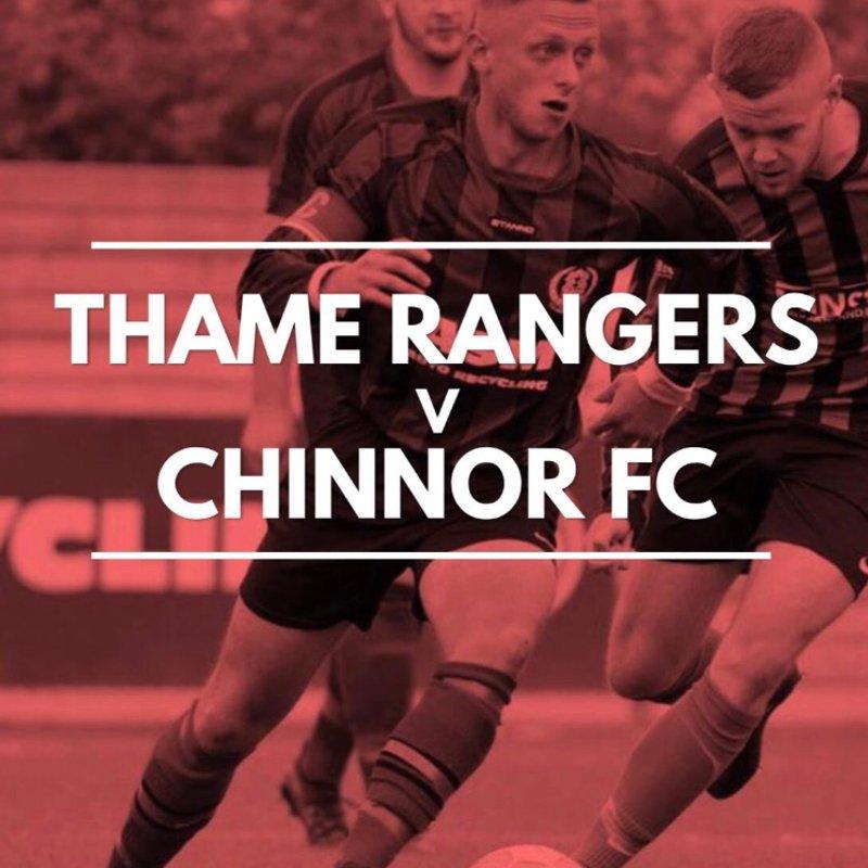 Thame Rangers v Chinnor FC
