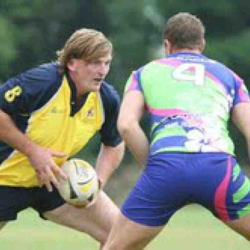 Sam Hallett & Treacle at Fat Blokes 7's see Club News