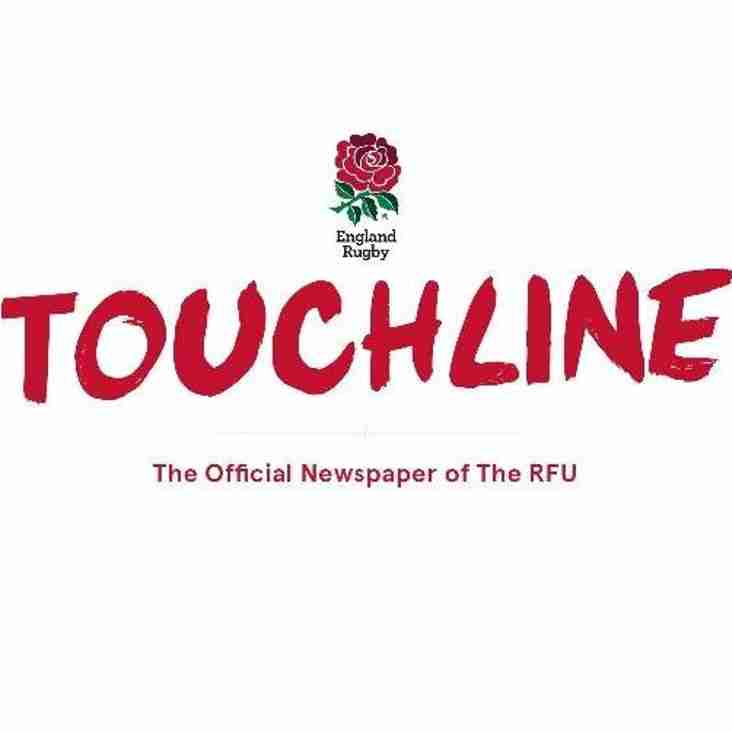 RFU TOUCHLINE MAGAZINE – JUNE/JULY EDITION
