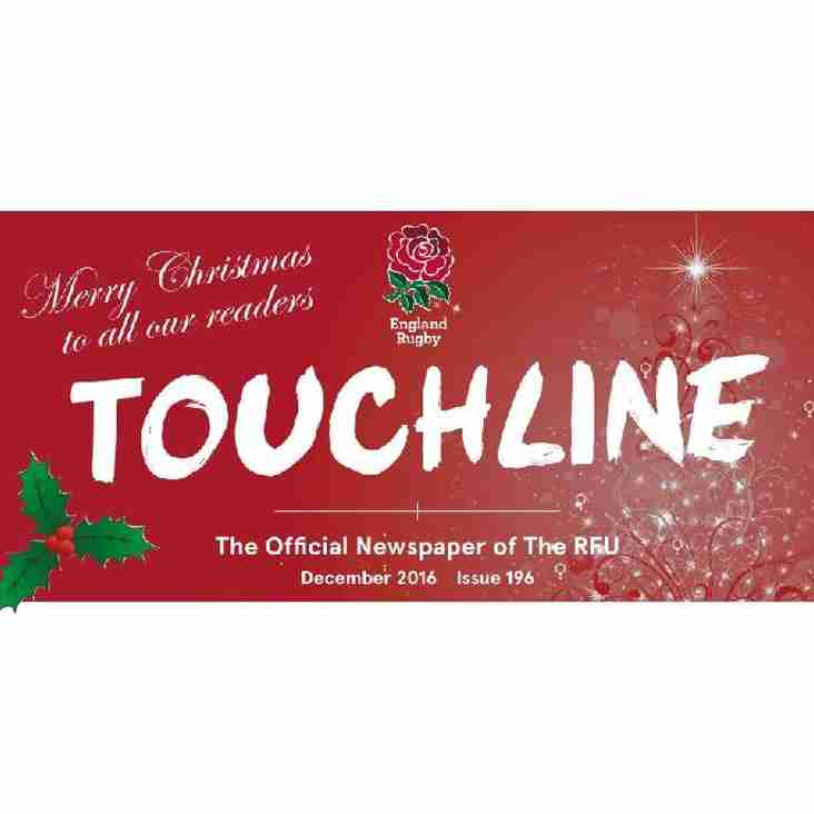 RFU TOUCHLINE MAGAZINE – DECEMBER EDITION