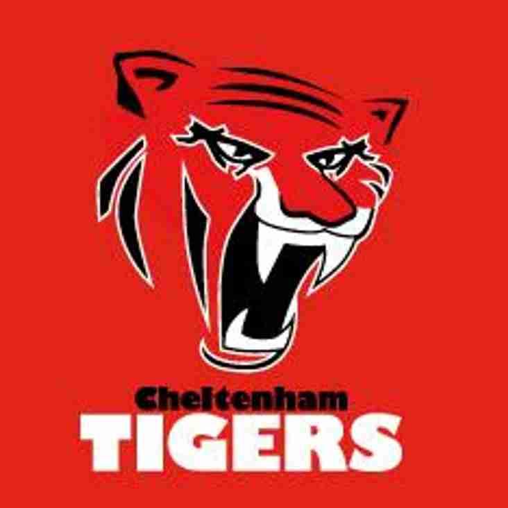 Sat 23rd Sept - 1st XV AWAY to CHELTENHAM TIGERS