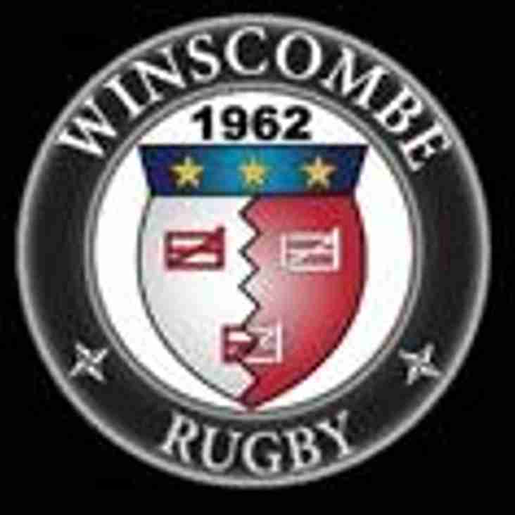 SAT 21 OCT - 1sts HOME to WINSCOMBE, 2nds AWAY to OLD CRYPTIANS