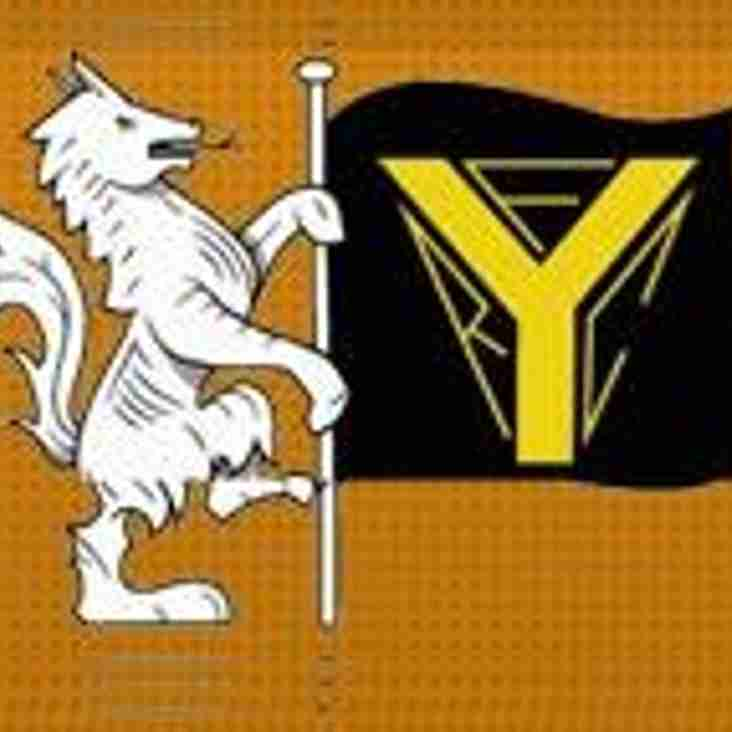 SAT 2nd DEC - 1sts HOME to YATTON, 2nds AWAY to LYDNEY