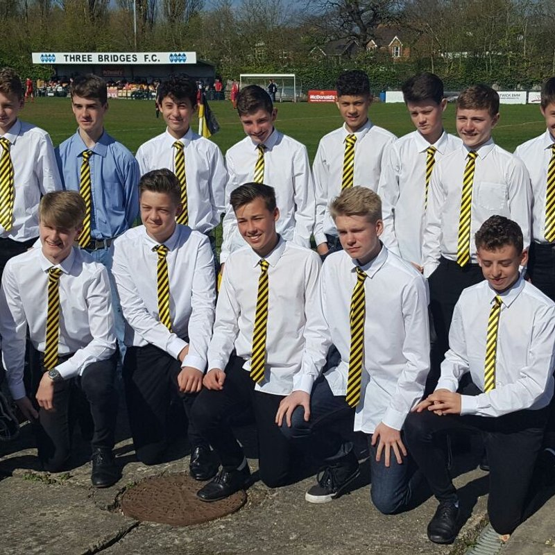Under 16's Lads v Dads match - 16th May 2018