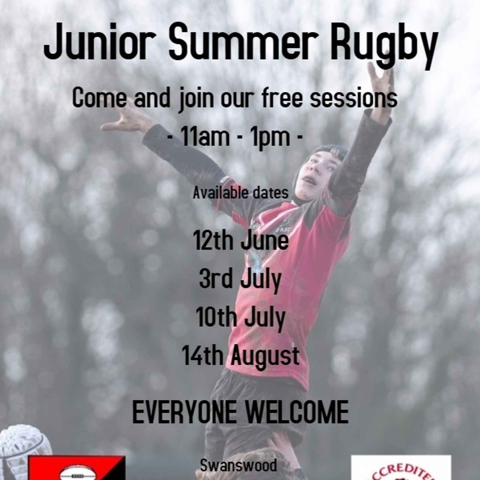 Junior summer rugby
